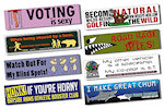 11.5 X 3 inch Car Sign Magnets